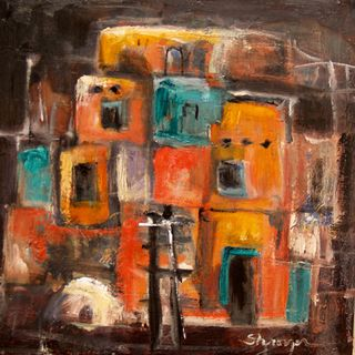 Pueblo in the Abstract
