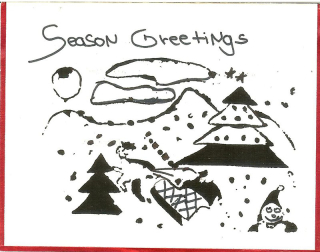 Christmas Card  CA 1991