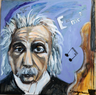 Einstein   I Often Think in Music