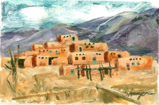 Taos pueblo forever